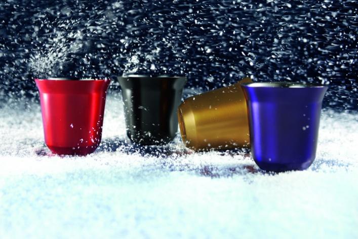 Коллекция новогодних подарков Nespresso