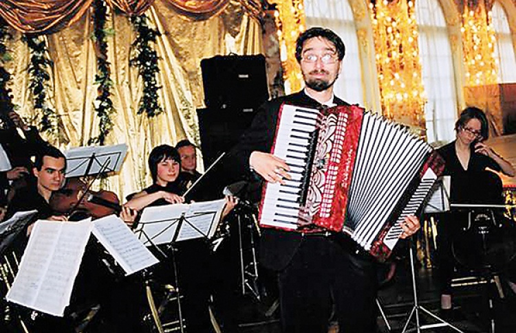 Новогодний концерт Молодежного камерного оркестра СПбГУ