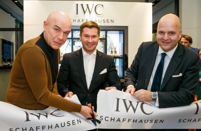 IWC Schaffhausen открывает обновленный бутик вМоскве
