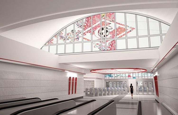 В2014 году вМоскве появятся 9новых станций метро