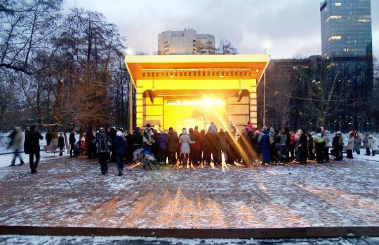 Новогодние каникулы в парке «Красная Пресня»