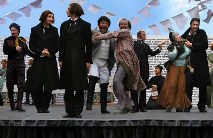 Карнавал героев Достоевского