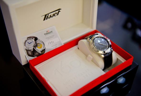 ВМоскве состоялась презентация винтажных часов Heritage Navigator отTissot - Фото №1