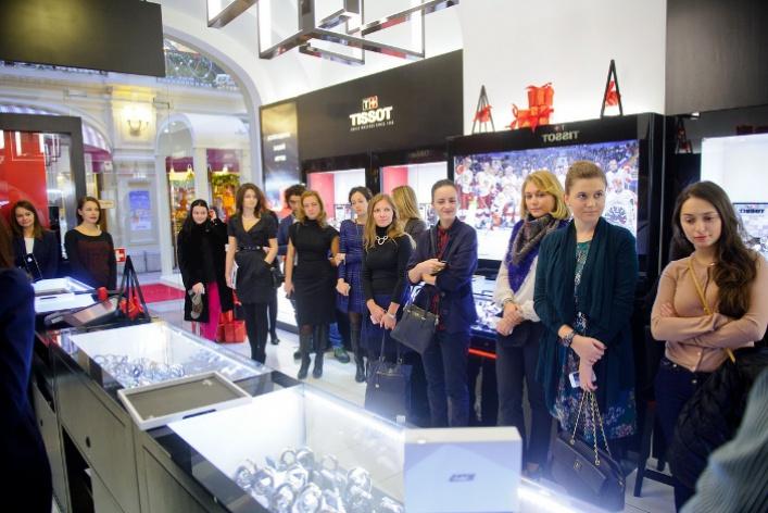 ВМоскве состоялась презентация винтажных часов Heritage Navigator отTissot