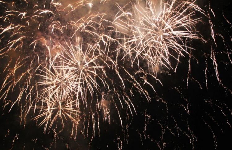 Новогодний салют наМоскворецкой набережной начнется вполночь