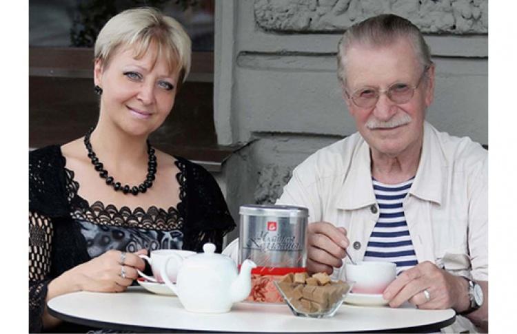 Встреча с Иваном Краско и Натальей Дроздовой
