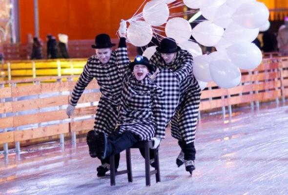 Новогодние развлечения впарках Москвы - Фото №4