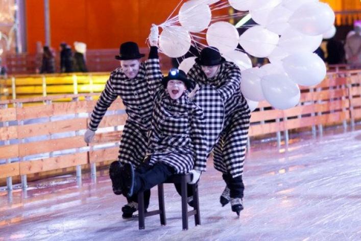 Новогодние развлечения впарках Москвы
