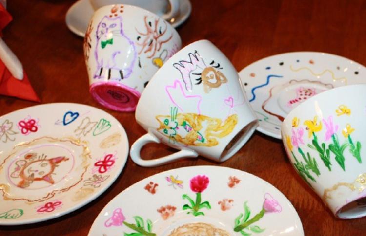 Мастер-класс по росписи керамики и стекла