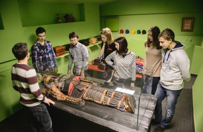 Вначале Невского открылся музей Смерти