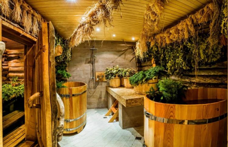 Сибирская баня вцентре Москвы Фото №422599