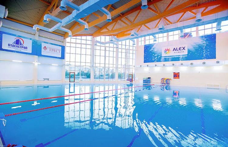 Вода илед вAlex Fitness