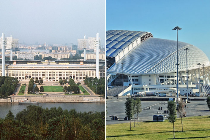 Олимпиада: Москва-1980 vs. Сочи-2014
