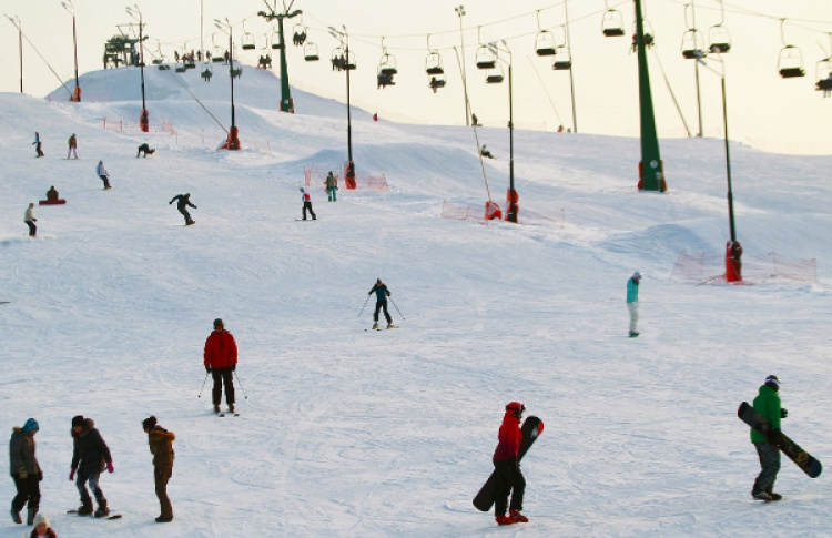 10лучших горнолыжных склонов вокруг Москвы Фото №423608