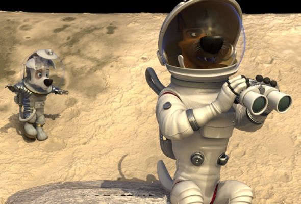 Белка и Стрелка: Лунные приключения - Фото №2
