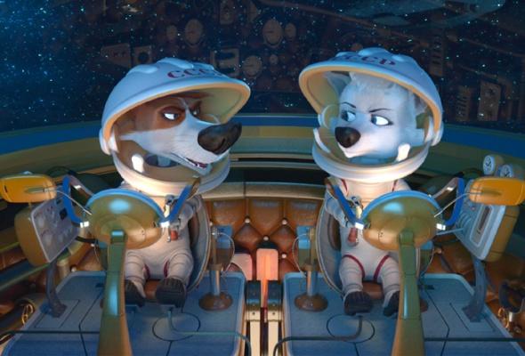 Белка и Стрелка: Лунные приключения - Фото №0
