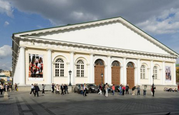 В«Манеже» откроется круглый кинотеатр