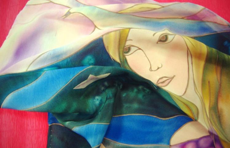 Батик - роспись по ткани