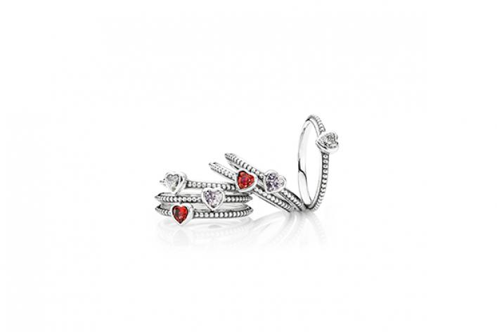 Коллекция Pandora коДню Святого Валентина