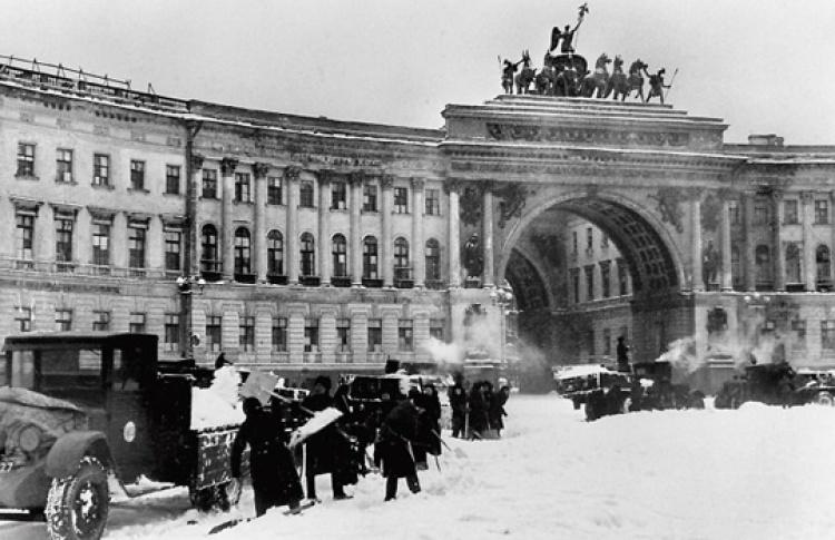 Праздник ленинградской Победы