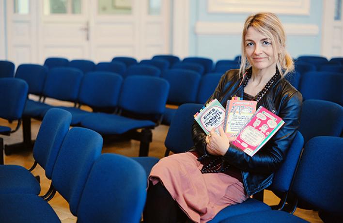 Франсуаза Буше: Ястараюсь разговаривать сосвоими юными читателями как совзрослым