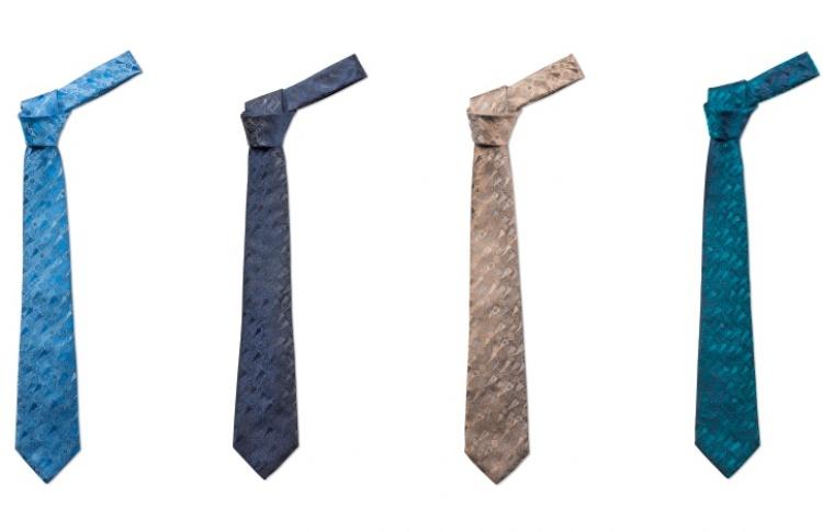 Freywille выпустили галстук «Бельведер» сособым узором