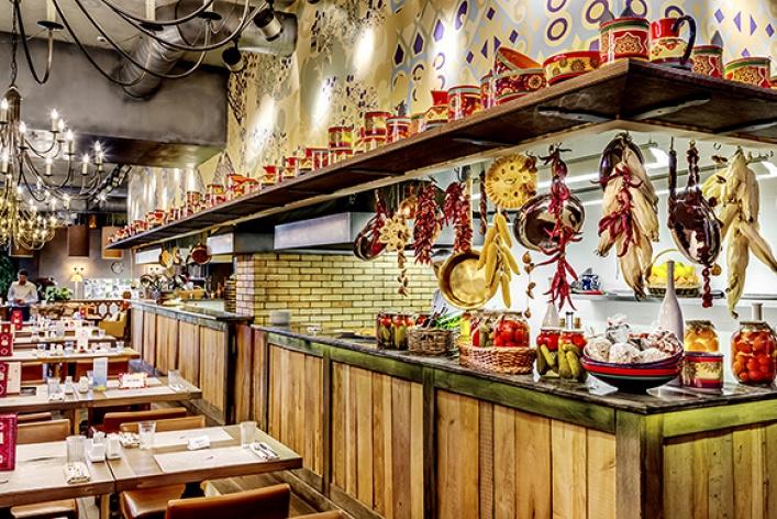 Рестораны десятилетия