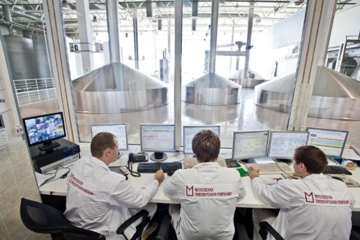 Московская Пивоваренная Компания приглашает набесплатные экскурсии попивоваренному заводу