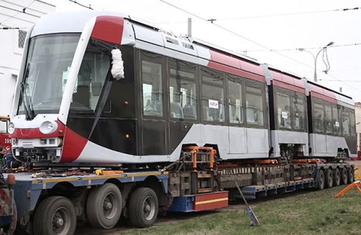 Летом вгороде появятся трехсекционные трамваи с видеоконтролем
