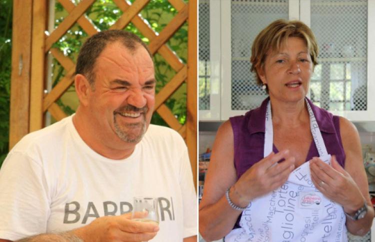 Калабрийский ужин от Патриции и Энцо Барбьери