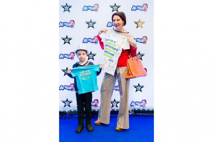 Маша Цигаль презентовала коллекцию футболок для бренда «Агуша»