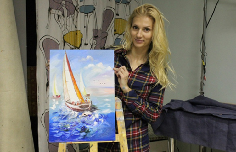 Масляная живопись: картина за одно занятие