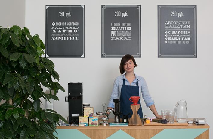 Вкреативном пространстве «Ткачи» открылась вторая кофейня Double B