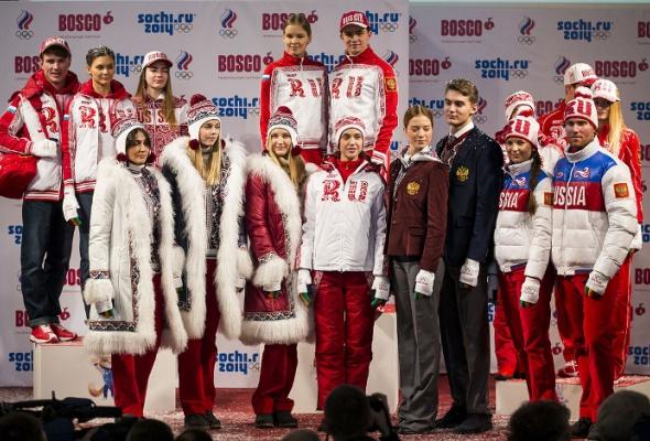 Олимпийская форма 20сборных мира - Фото №0