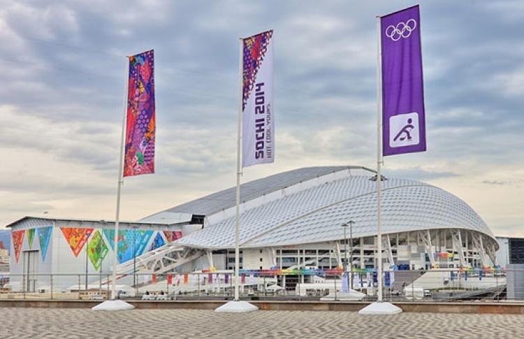 Олимпиада вСочи: болеем занаших вМоскве Фото №426310
