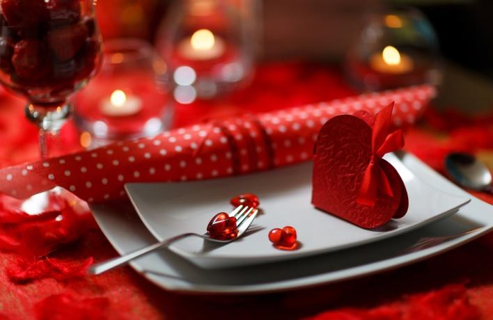 День влюбленных: ресторанные предложения для пар