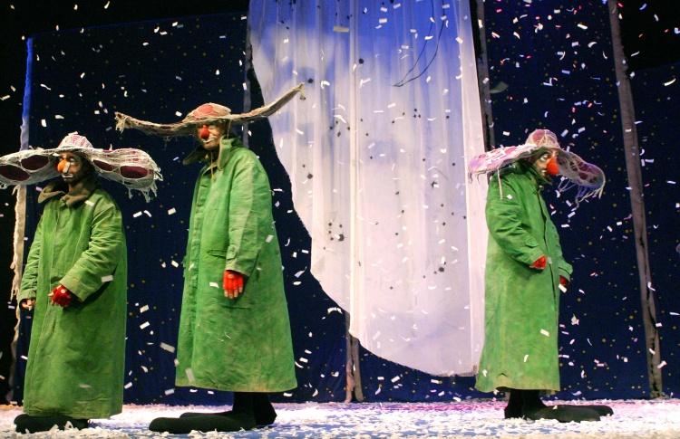 «Снежное шоу»