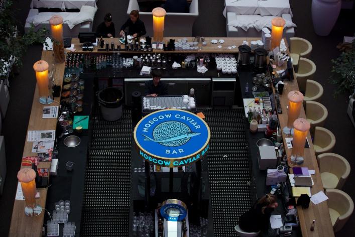 В Clumba Club открылся икорный бар