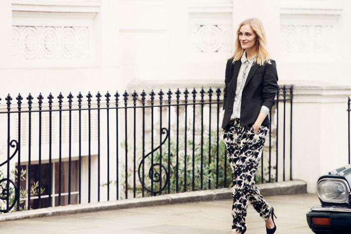 Новым лицом InWear стала Мари Хинкер, лондонский блоггер
