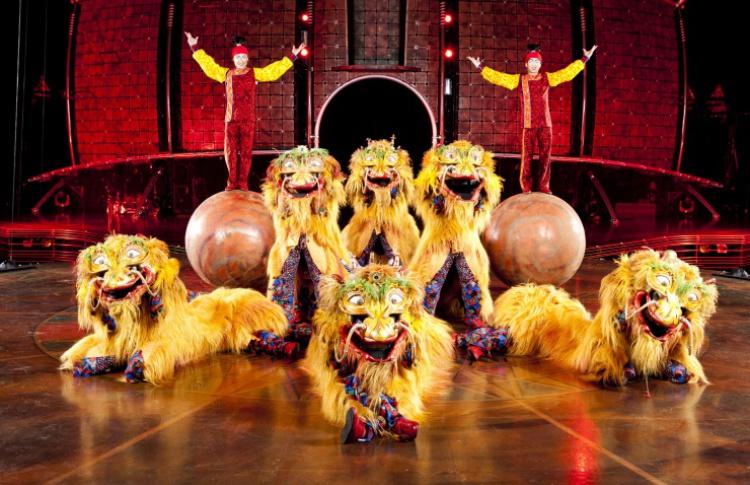 Новое шоу Cirque du Soleil: «Dralion»