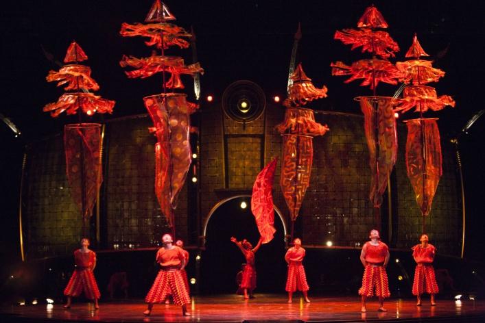Dralion. Cirque du Soleil