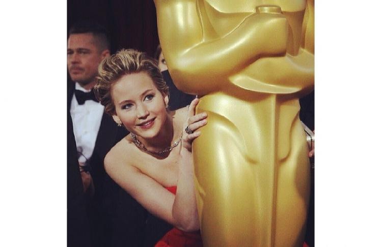 «Оскар-2014»: главные инстаграмы Фото №428503