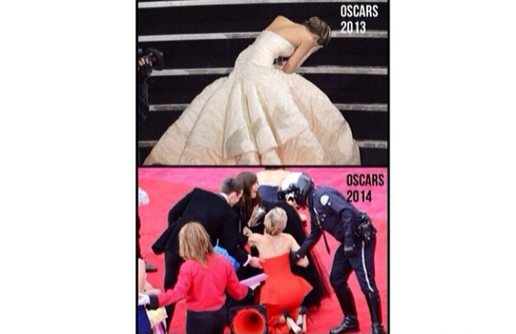«Оскар-2014»: главные инстаграмы Фото №428504