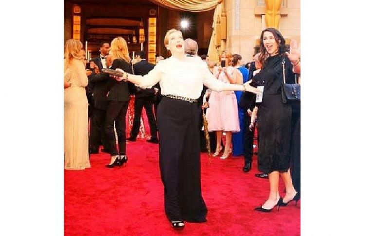 «Оскар-2014»: главные инстаграмы Фото №428531