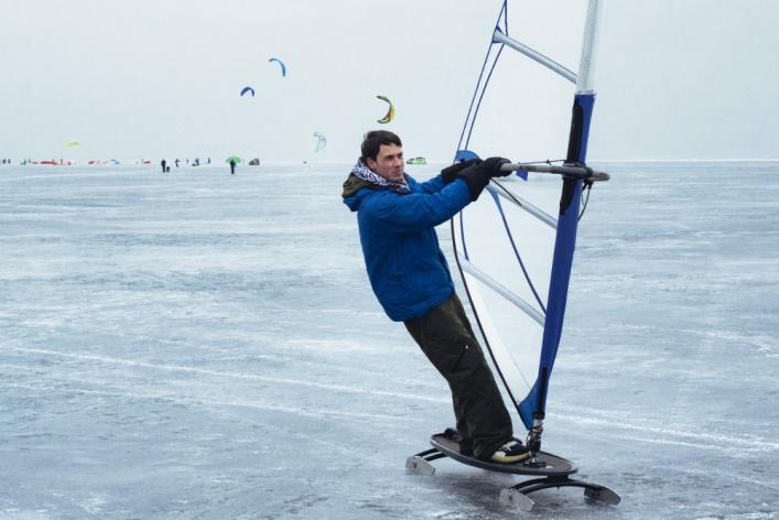 Сноукайтинг в Петербурге - фоторепортаж Time Out