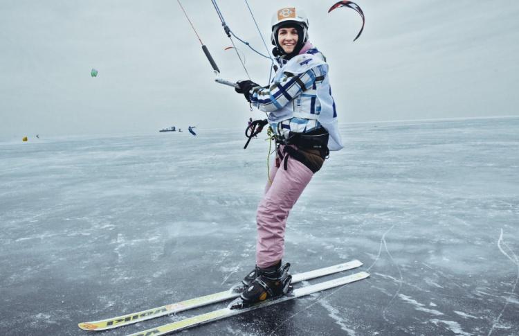 Сноукайтинг в Петербурге - фоторепортаж Time Out Фото №428543
