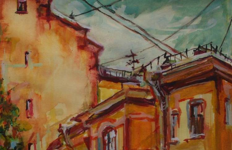 Гуляя по крышам