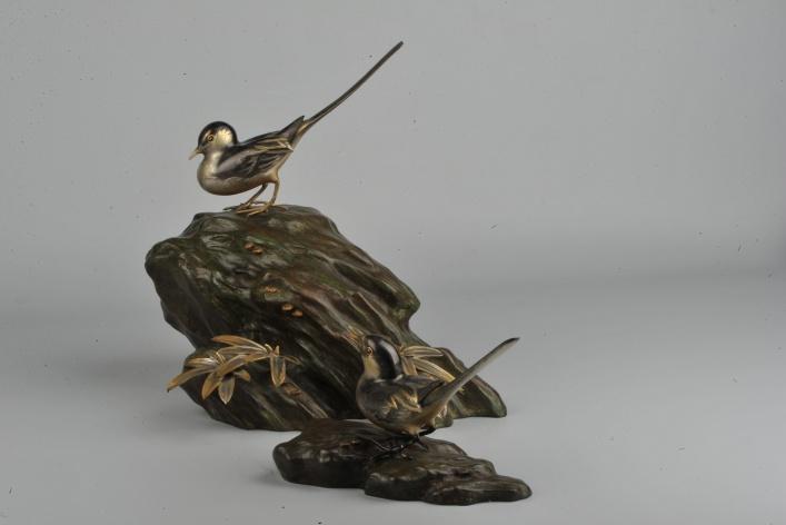 Японская бронза эпохи Мэйдзи