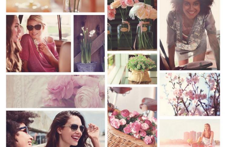 Цветочный Базар в магазинах Mexx к 8 марта