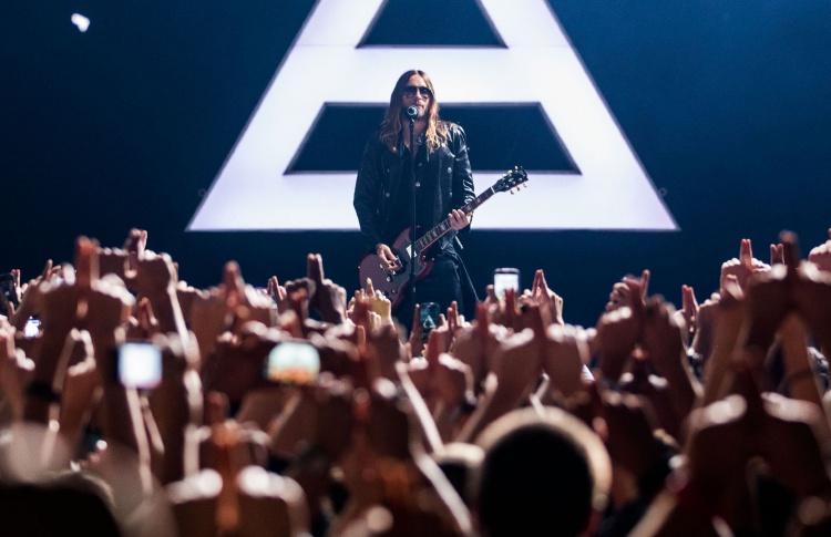 30 Seconds to Mars: лауреат «Оскара» на сцене «Олимпийского»
